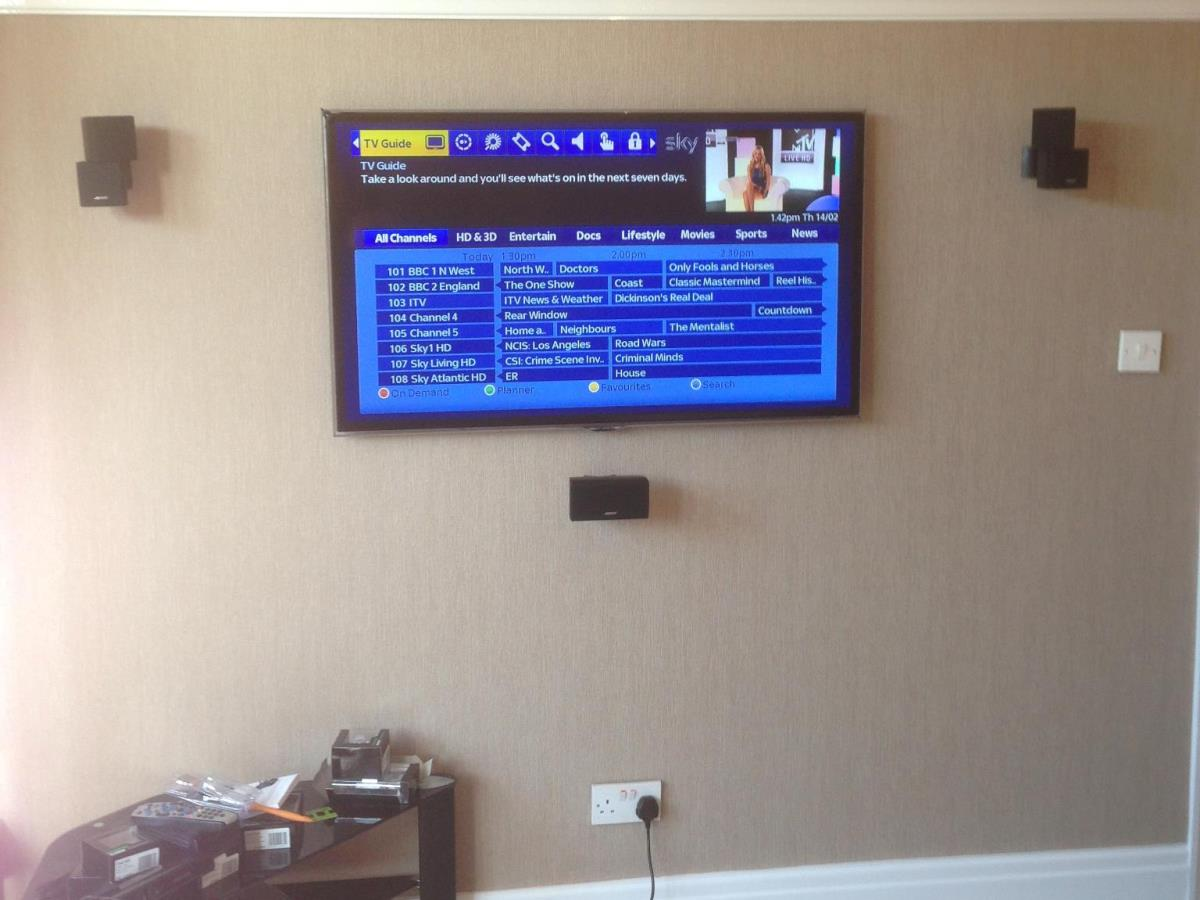 "2 of 2 - Finished Bose AV system with 46"" Samsung Smart TV and multi-room HD link in Fleetwood."
