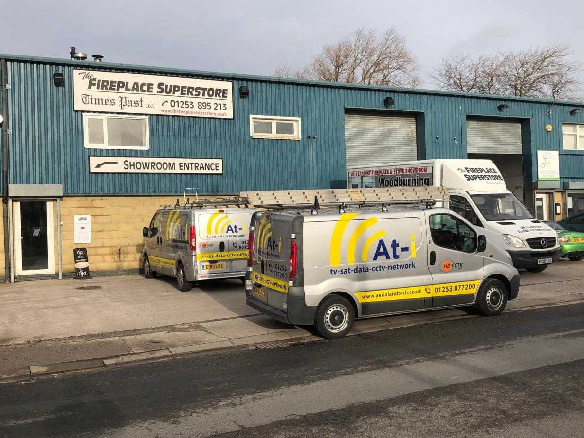 We can install commercial CCTV systems to keep your business premises safe.