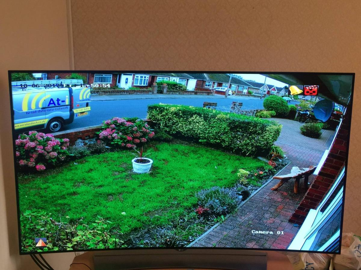 2 of 4 - High quality screen recording and remote access CCTV system.
